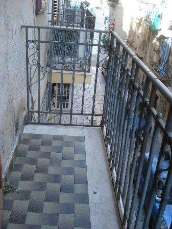 Hotel Posta : balcon