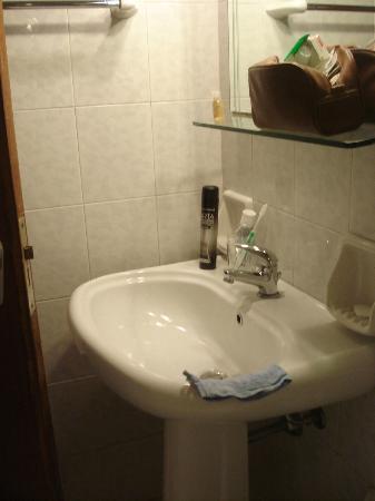 Hotel Posta : salle de bain
