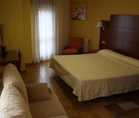 Hotel Delfin Azul: Habitación