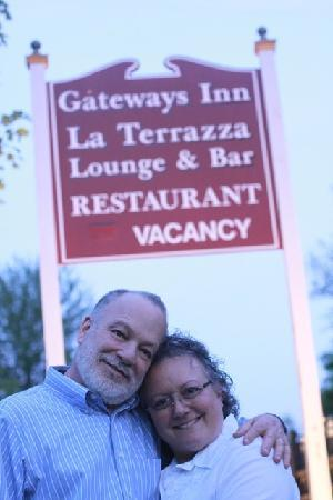 Gateways Inn: your hosts - Michele & Eiran