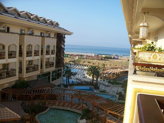 Alva Donna Exclusive Hotel & Spa: View from our room