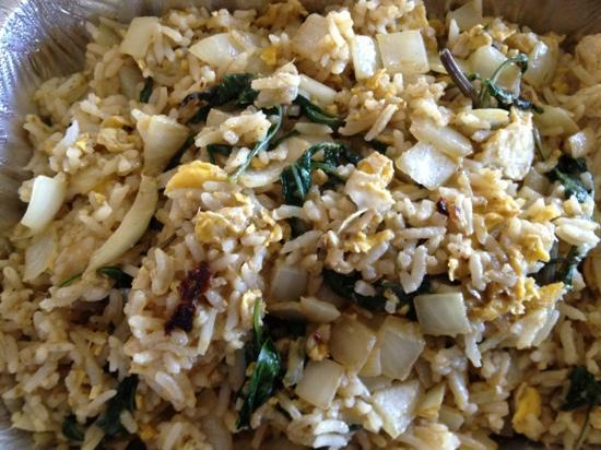 Thai Tugboat: Curry Fried Rice