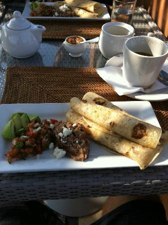 Rancho Pescadero: Breakfast