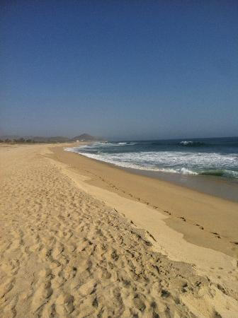 Rancho Pescadero: Deserted beach