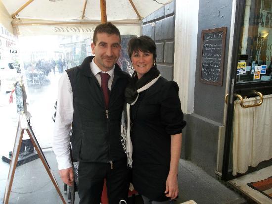 Elettra: Francesco The best waiter in Rome!!
