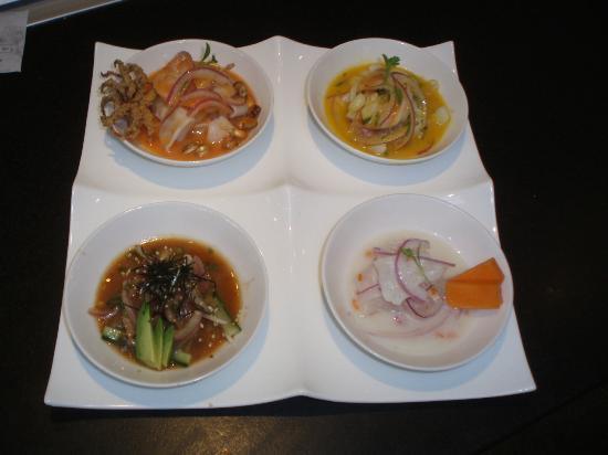 La Mar Cebicheria Peruana: Tasting of Cebiches