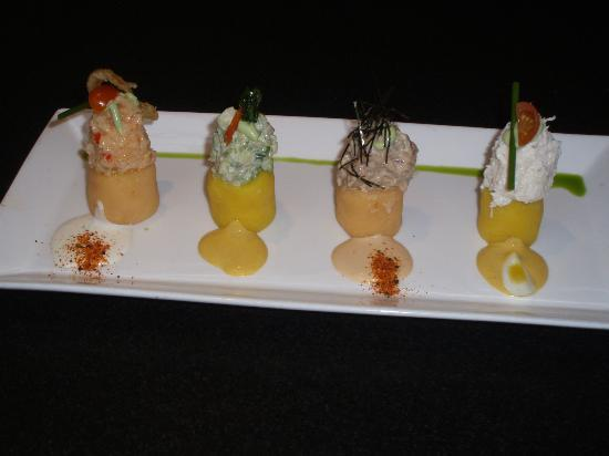 La Mar Cebicheria Peruana: Tasting of Causas