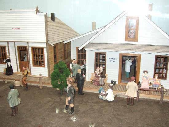 Museum of Miniatures: Old western town
