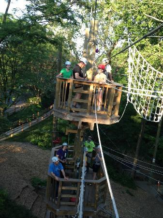 Terrapin Adventures : the crew on the second and third levels