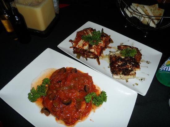Mayan Bistro: Our fish prepared three way by genious chef Marco