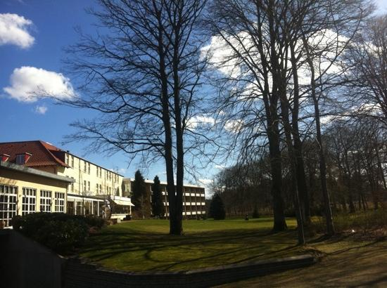 Gl. Skovridergaard: the hotel looks even nicer in real life