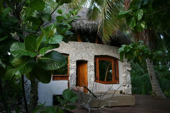 Tikehau Ninamu Resort: de la terrasse privée