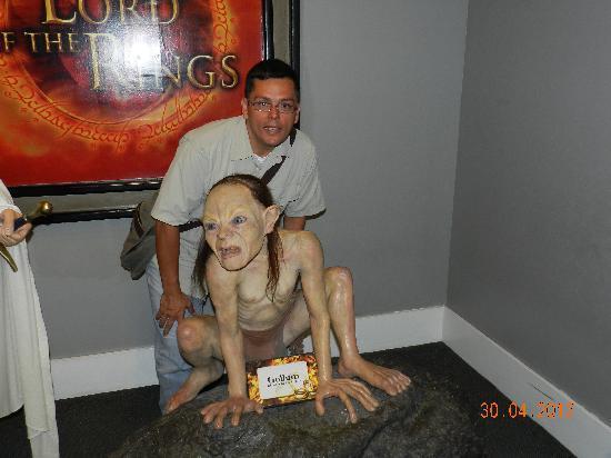 Museo de Cera de la Ciudad de Mexico : Con Gollum