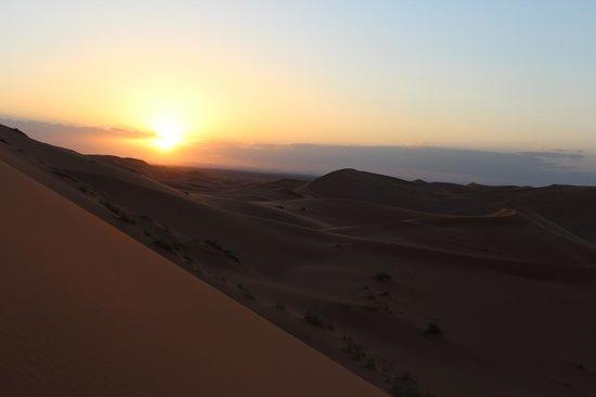 Erfoud, Maroc : atardecer