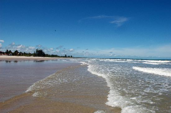 Valenca, BA: leichte Wellen, warmes Meer