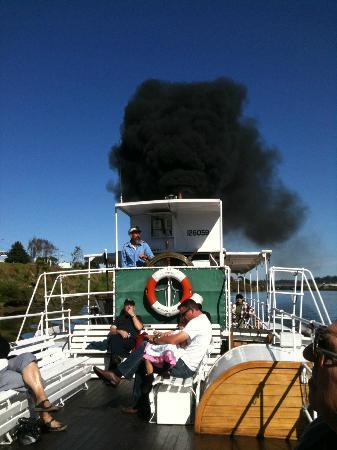 Whanganui River: Waimairie steamer