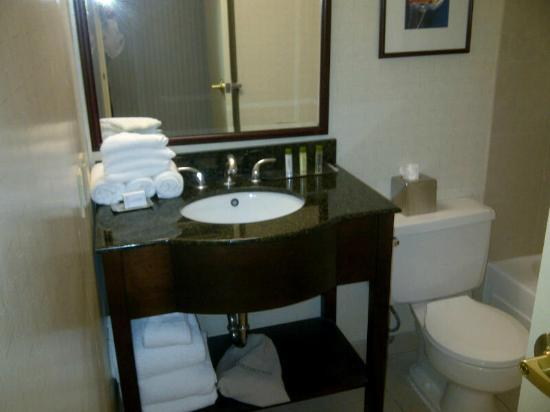 Doubletree by Hilton Hotel Annapolis: Bathroom