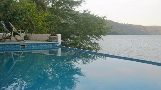 Hotel Selva Azul: The wonderful little pool