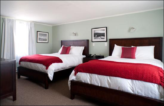 Sharon, CT: Our Double Queen Rooms in our original building