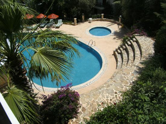 Aquarius Hotel: Udsigt til pool
