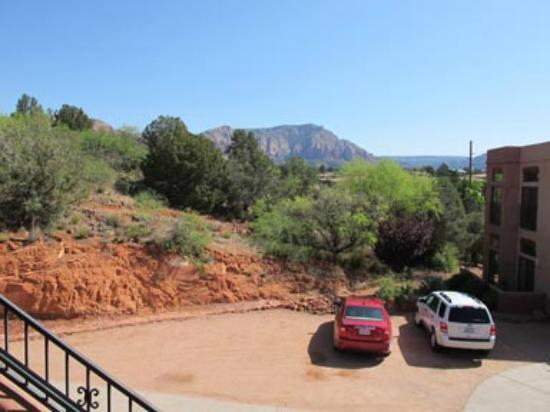Las Posadas of Sedona: view from front door