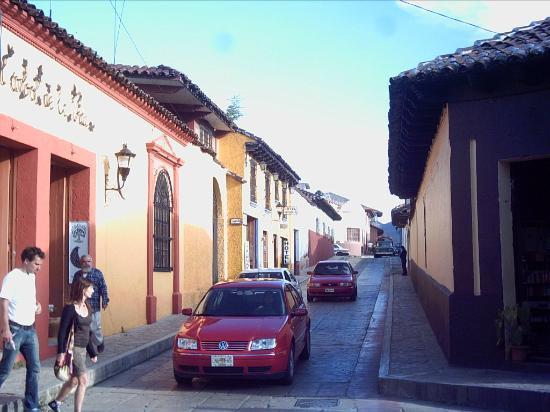Hotel Don Quijote: Una de sus calles