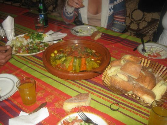 Maison d'hotes Anissa: Food is just brilliant!