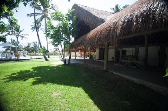 Pousada Praia dos Carneiros : Obra en construccion.
