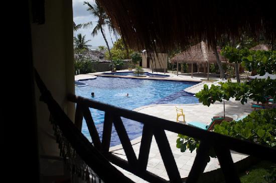 Pousada Praia dos Carneiros : La proximidad a la piscina hace que la habitacion sea muy ruidosa.
