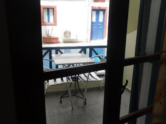 Hotel Leta: habitación con balcón