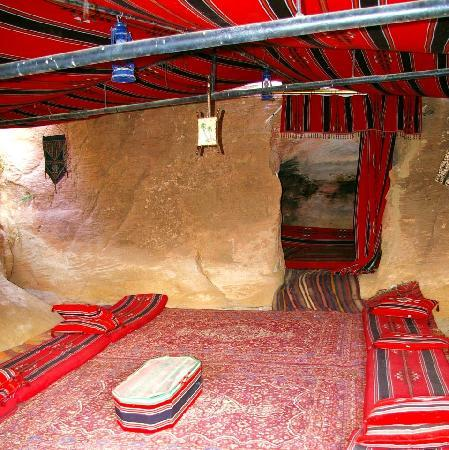 Little Petra Bedouin Camp: The Cave