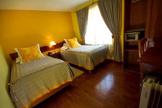 Hotel Torre Dorada: Double Room