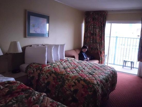 Howard Johnson Inn Ocean City Oceanfront: Very spacious room