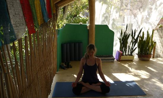 Paraiso Yoga : Inspiring top floor yoga space at Paraiso with great classes.