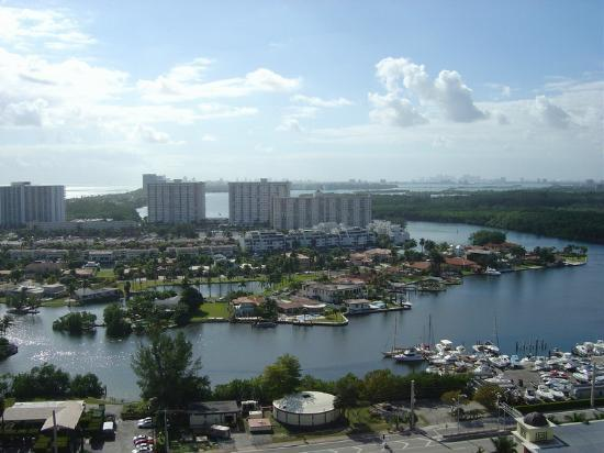 Residences at Intracoastal Yacht Club: view from our balcony