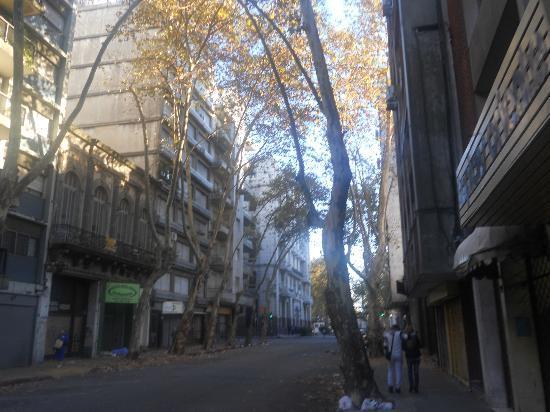 Hotel Lafayette: rua