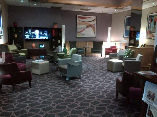 Club Quarters Hotel, Wall Street: Lobby Area
