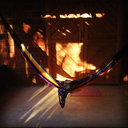 La Loma Linda: Bungalows, Yoga and Feldenkrais : Lovely handmade hammock