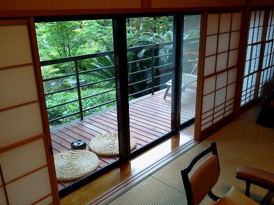 Narashinonosato Gyokusui: 部屋からの眺め