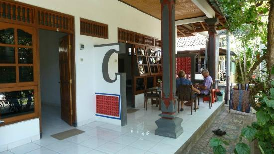 Gede Homestay: Our two rooms from the outside.
