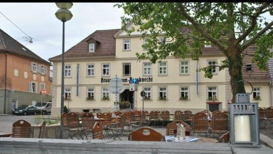 brauerei zum rossknecht ludwigsburg restaurant reviews phone number photos tripadvisor. Black Bedroom Furniture Sets. Home Design Ideas