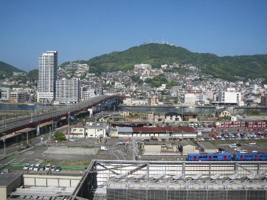 JR Kyushu Hotel Nagasaki: 部屋から眺め