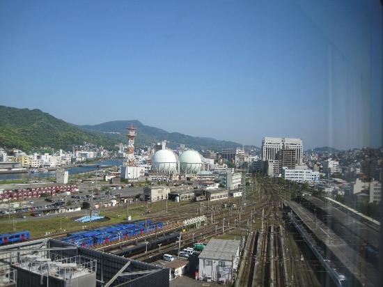 JR Kyushu Hotel Nagasaki: 部屋からの眺め