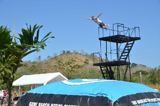 Surf Ranch AirPad Drop: Belly Flop!