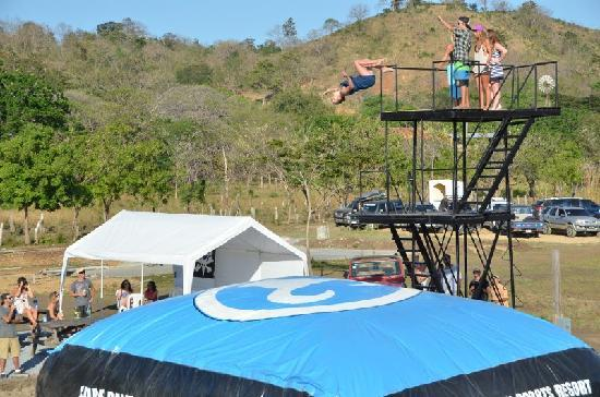 Surf Ranch AirPad Drop: Backflip in a dress!