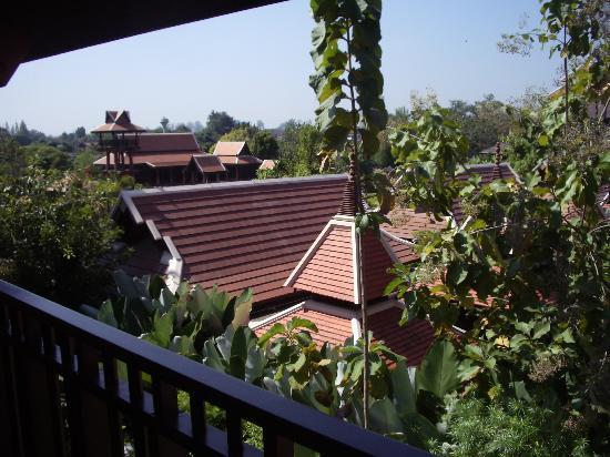 Siripanna Villa Resort & Spa: View from balcony