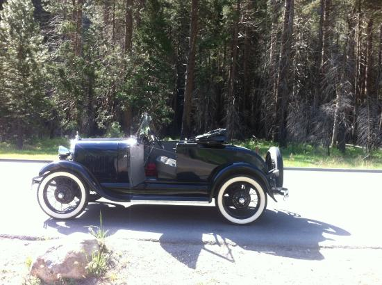 Model T Tours : Our car, 1929 Model A Roadster With Rumble Seat.