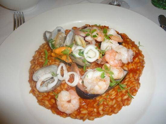 Donovans : Seafood risotto