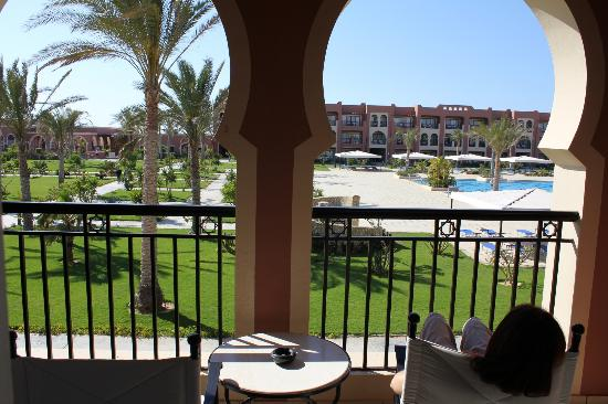 Jaz Oriental Resort: Vista dal balcone