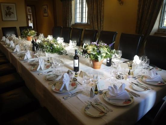 Mortons House Restaurant: private dining
